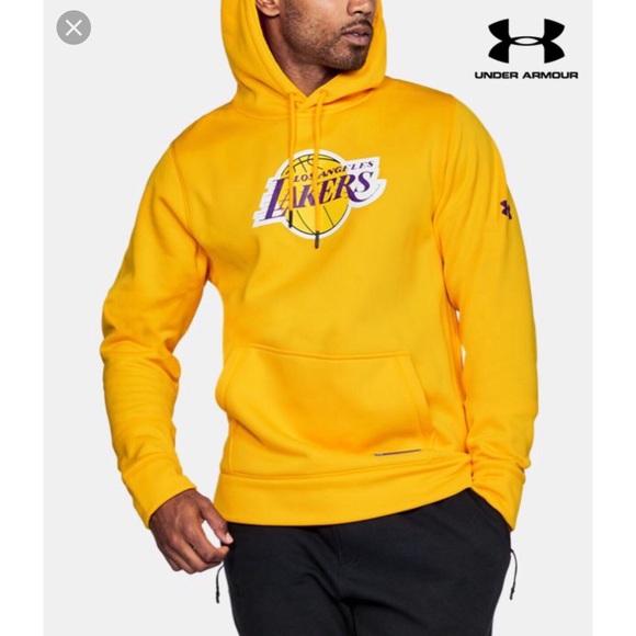2da6a032 Under Armour Jackets & Coats   Mens Los Angeles Lakers Hoodie   Poshmark